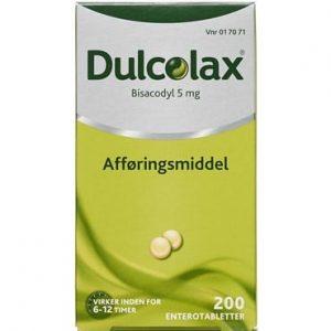 Dulcolax 200 stk Enterotabletter