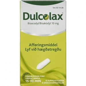 Dulcolax 6 stk Suppositorier