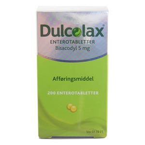 Dulcolax enterotabletter 5mg - 200 stk.