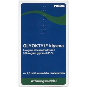Glyoktyl 30 ml Klysma