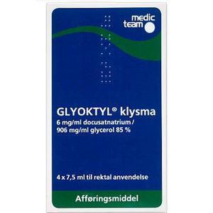 Glyoktyl Klysma - 4 x 7,5 ml