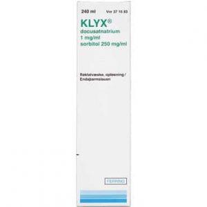 Klyx 240 ml Rektalvæske, opløsning