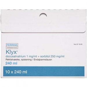 Klyx 2400 ml Rektalvæske, opløsning