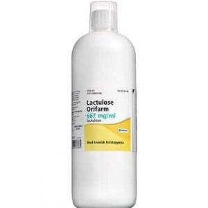 "Lactulose ""Orifarm"" 1000 ml Oral opløsning"