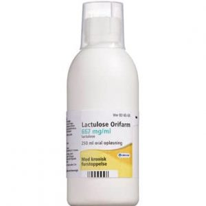 "Lactulose ""Orifarm"" 250 ml Oral opløsning"