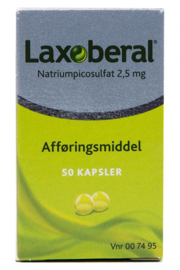 Laxoberal - 2.5 mg - 50 Kaps