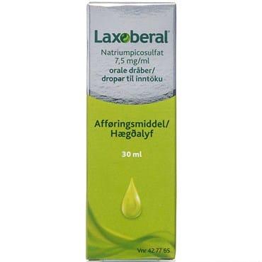 Laxoberal 30 ml Orale dråber, opløsning