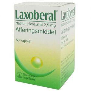 Laxoberal Kapsler 2,5 mg (50 stk)