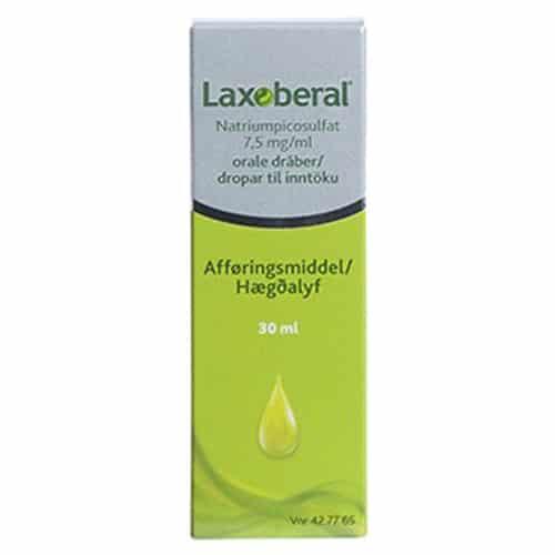 Laxoberal Oral Dråber 7,5 mg (30 ml)