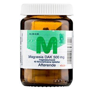 Magnesia 500 mg - 40 stk.