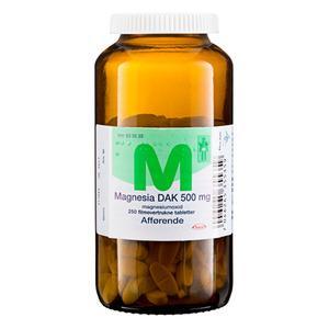 Magnesia 500mg - 250 stk