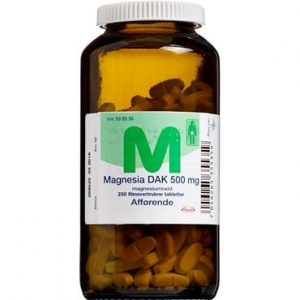 "Magnesia ""DAK"" 250 stk Filmovertrukne tabletter"