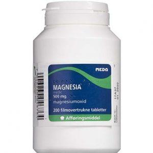 "Magnesia ""medic"" 200 stk Filmovertrukne tabletter"