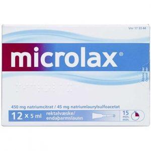 Microlax 60 ml Rektalvæske, opløsning, enkeltdosisbeholder