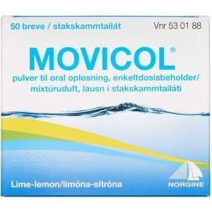Movicol 50 stk Pulver til oral opløsning, enkeltdosisbeholder