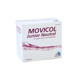 Movicol Junior Neutral - 30 stk