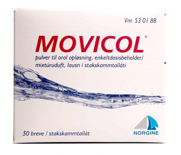 Movicol Pulverbreve - 50 Brev