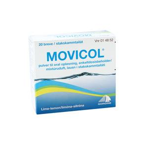 Movicol pulver - 20 breve