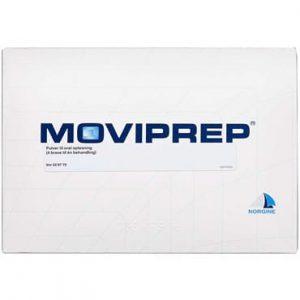 Moviprep 2 pakning Pulver til oral opløsning