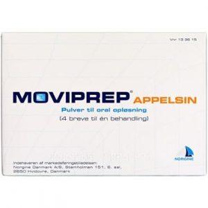 Moviprep Appelsin 2 pakning Pulver til oral opløsning