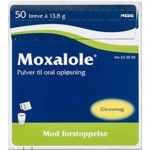 Moxalole 50 brev Pulver til oral opløsning