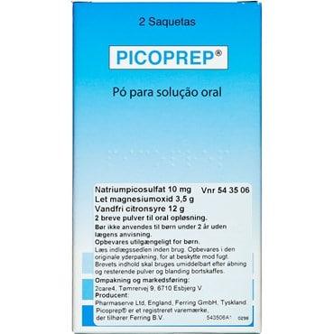 Picoprep 2 stk Pulver til oral opløsning