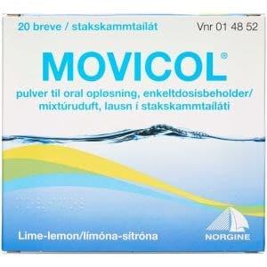Movicol 20 stk Pulver til oral opløsning, enkeltdosisbeholder