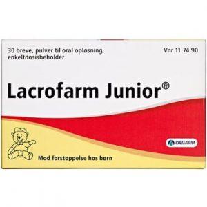 Lacrofarm Junior 30 stk Pulver til oral opløsning, enkeltdosisbeholder