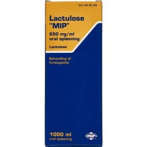 """Lactulose """"MIP"""" 1000 ml Oral opløsning"""