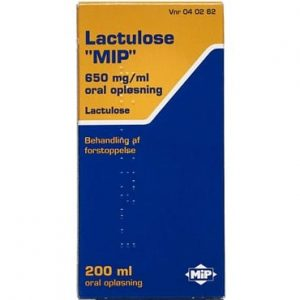 """Lactulose """"MIP"""" 200 ml Oral opløsning"""