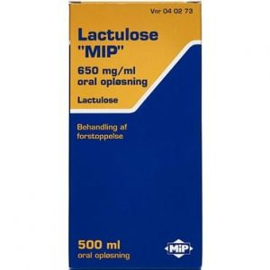"""Lactulose """"MIP"""" 500 ml Oral opløsning"""