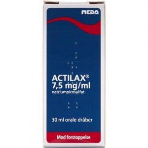 Actilax 7,5 mg/ml 30 ml Orale dråber, opløsning